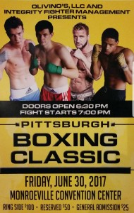 Pittsburgh Boxing Classic @ Monroeville Convention Center | Monroeville | Pennsylvania | United States