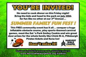 Summer Family Fun Fest @ Monroeville Community Park West | Monroeville | Pennsylvania | United States
