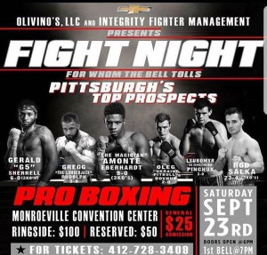 FIGHT NIGHT - For Whom The Bell Tolls @ Monroeville Convention Center | Monroeville | Pennsylvania | United States