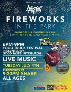 FIREWORKS IN THE PARK @ Monroeville Community Park West | Monroeville | Pennsylvania | United States