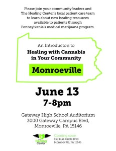 An Introduction to Healing with Cannabis @ Gateway High School Auditorium | Monroeville | Pennsylvania | United States