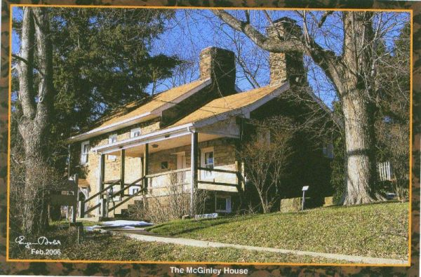 Open House Mcginley House And Mccully Log House Visit