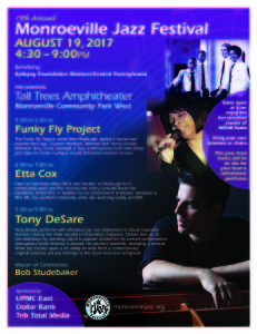 15th Annual Monroeville Jazz Festival @ Tall Trees Amphitheater  | Monroeville | Pennsylvania | United States