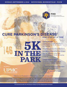 PIND 5K Race/Walk for Parkinson's Disease @ Boyce Park | Pittsburgh | Pennsylvania | United States