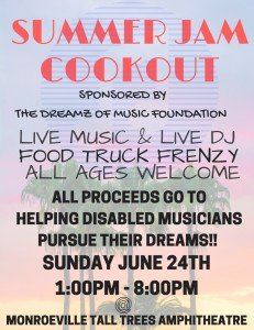 Summer Jam Cookout @ Tall Trees Amphitheater - Monroeville Community Park West | Monroeville | Pennsylvania | United States