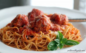 Spaghetti-and-Meatballs