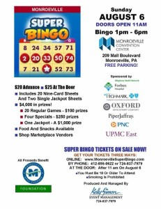 Super BINGO! @ Monroeville Convention Center | Monroeville | Pennsylvania | United States