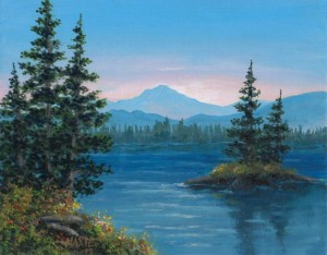 Educational Outreach Workshop:  Acrylic Landscape Painting with Gigi Goldenson @ Monroeville Public Library - Program Room | Monroeville | Pennsylvania | United States